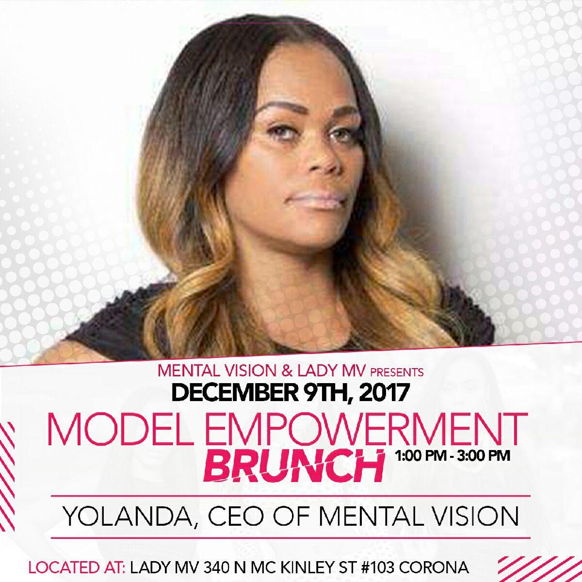Model Empowerment Brunch - Lady MV - Panelist - Yolanda Mangum