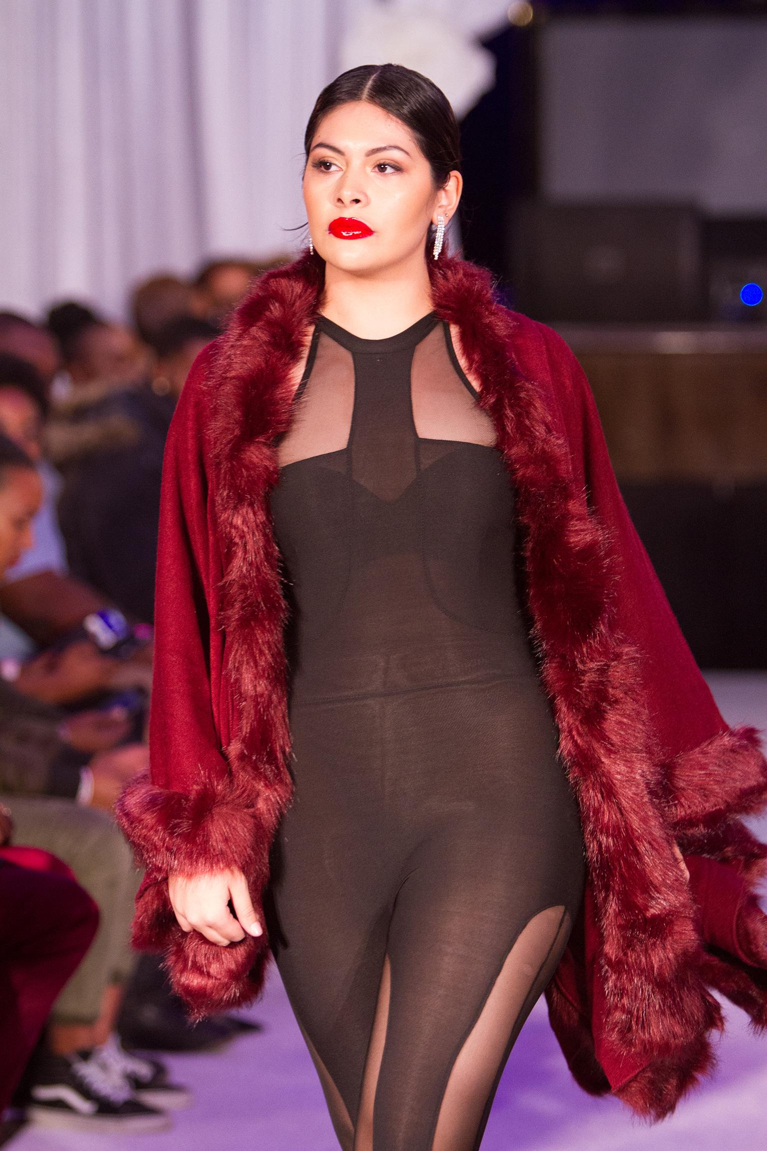 Lady MV Royal Rose Winter Fashion Show